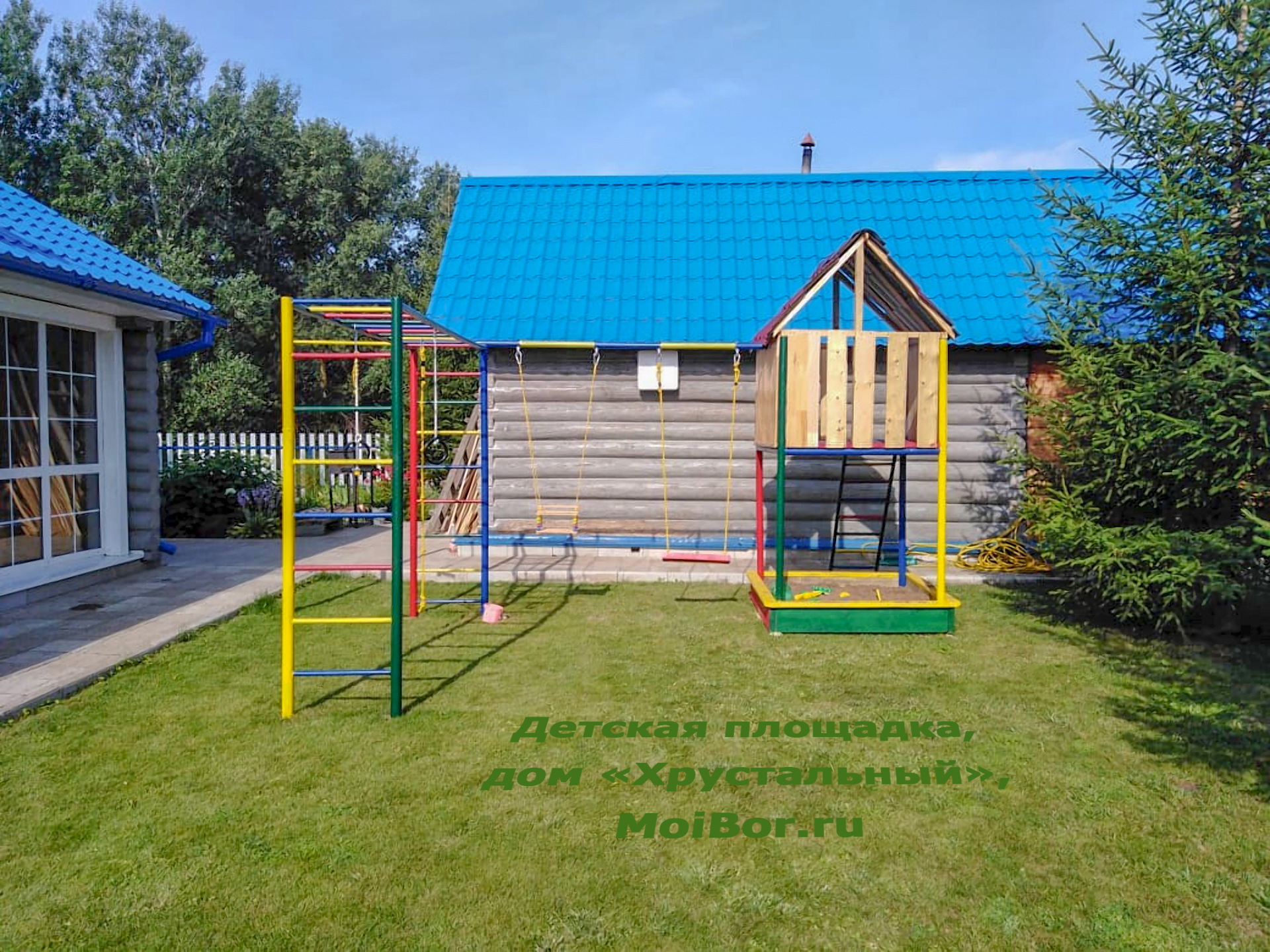 Детская площадка Бузулукский бор